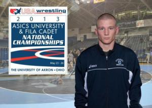 Jordan Wigger is Citadel Wrestling's latest All-American
