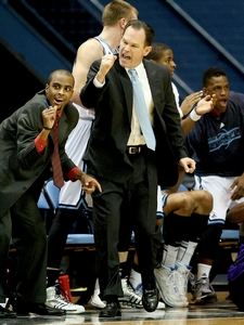 Citadel basketball coach Chuck Driesell, 31-94 in four seasons, will be back for a fifth season in 2014-15. (Paul Zoeller/P&CStaff)