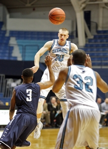 Citadel forward Matt Van Scyoc averaged 14.3 points per game in the '13-'14 season. (Wade Spees/staff)