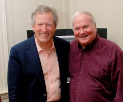 John Warley, T Co '67 (L) & Pat Conroy, R Co '67 (R)