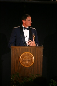 Gen Rosa at his installation as President of The Citadel