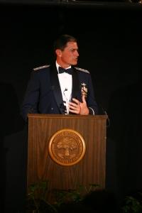 Gen Rosa at his installation as President of The Citadel