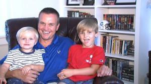 Coach Houston with his boys