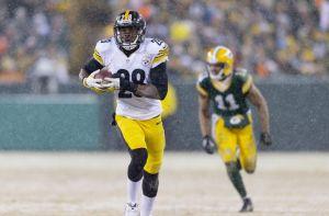 Cid Alum Cortez Allen returns an INT vs the Packers