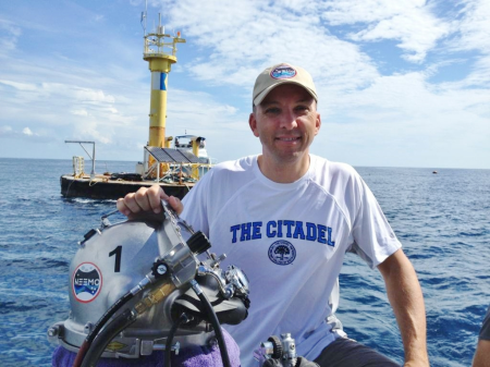 Col. Randy Bresnik is the first astronaut to become an aquanaut