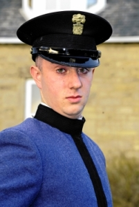 Cadet Jamie Crawford of Band Company