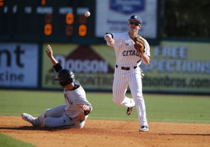 Citadel shortstop Johnathan Stokes was picked to the all-SoCon preseason team. (Russ Pace/The Citadel)