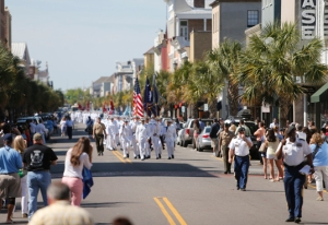 "The march to ""Citadel Green"" is the longest parade of the year."