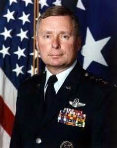 Lt. General Sams during his USAF career