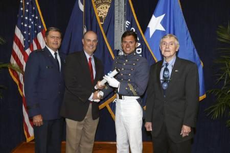 "Lt. Gen. Rosa, Hiram ""Chip"" Hutchison, III, Hiram ""Bo"" Hutchison, IV & Hiram ""Hutch"" Hutchison, Jr."